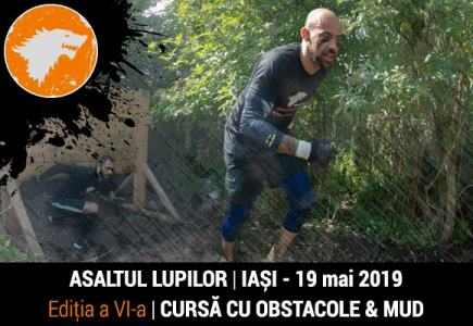 Asaltul lupilor cursa de obstacole & mud