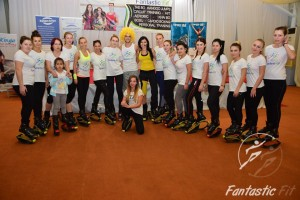 Master class Kinga Sebestyen in Iasi la Fantastic Fit