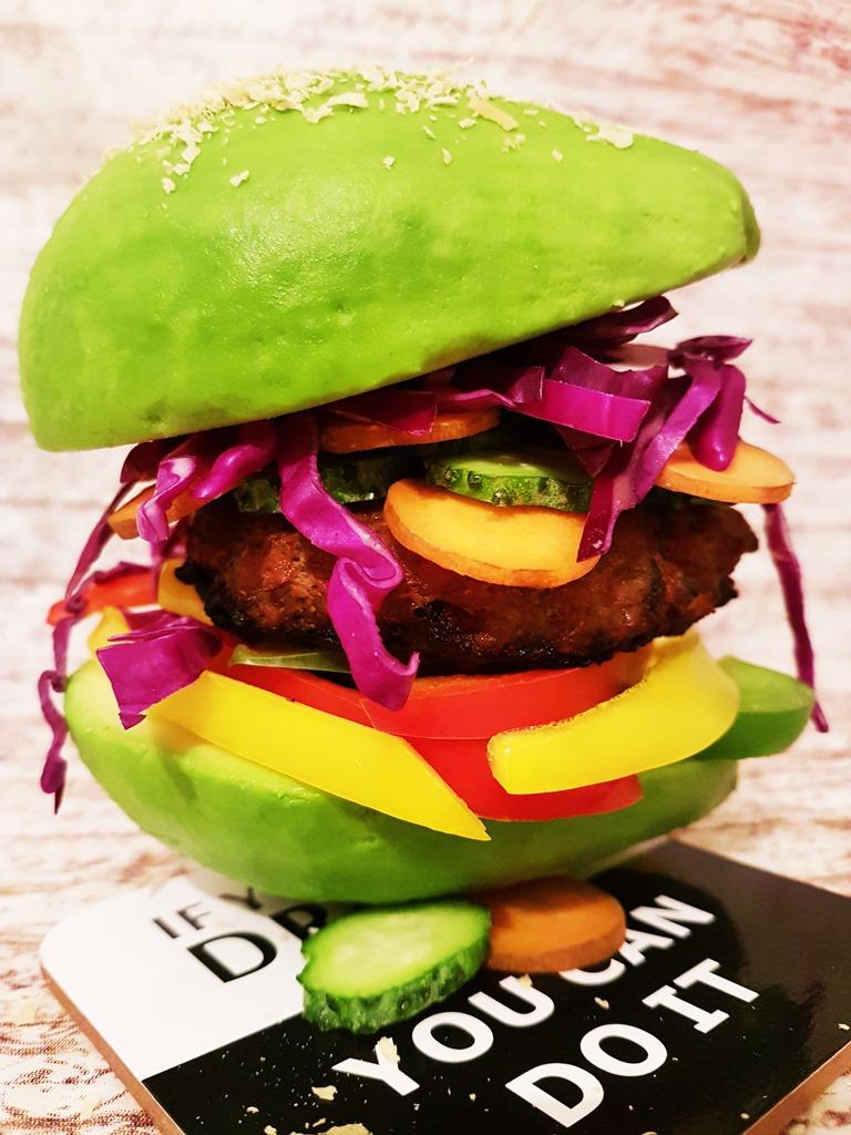 hamburger cu avocado fantastic fit 2