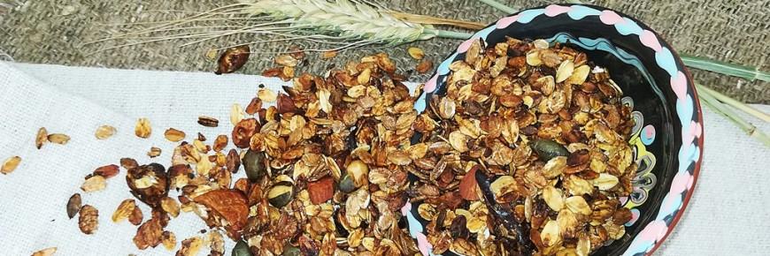 granola fara zahar fantastic fit